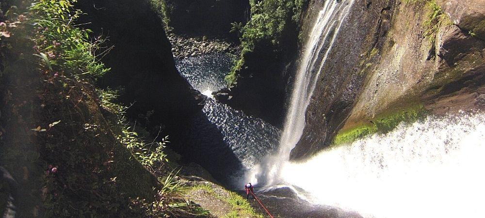 Sortie canyoning à Takamaka ♥