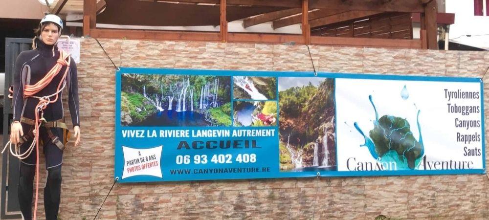 Nouveau : base Canyon Aventure à Langevin