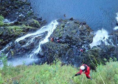 LANGEVIN INTEGRAL (cascade de Grand Galet)