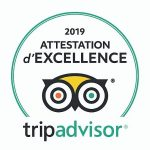 Attestation d'excellence Trip Advisor 2019