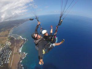 Parapente à la Réunion avec Volcanik