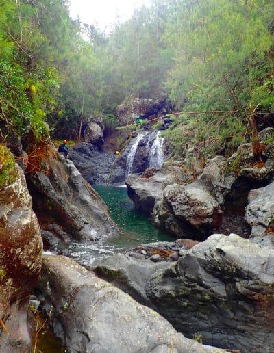 Canyon Ti Cap avec Canyon Aventure, canyoning à la Réunion