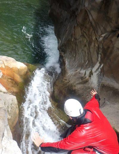 Toboggan canyon de Trou blanc
