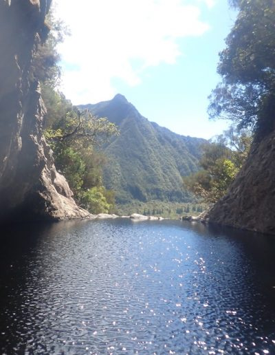 Vue depuis le canyon de Bras noir