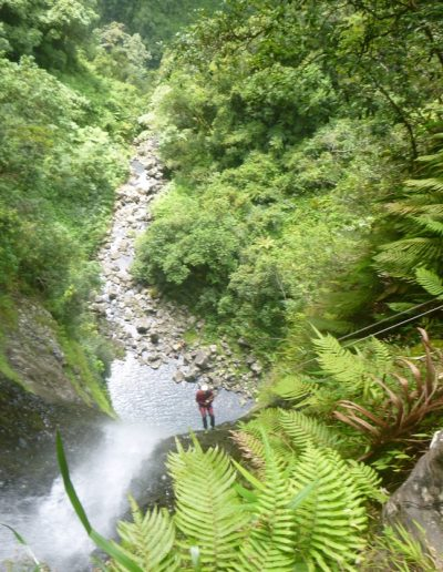 Grand rappel canyon Dudu