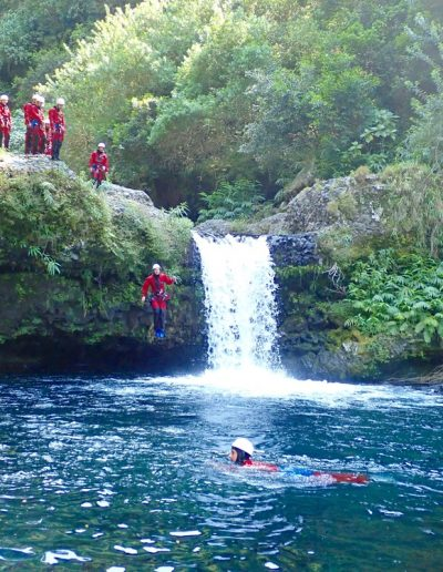Canyoning à Langevin