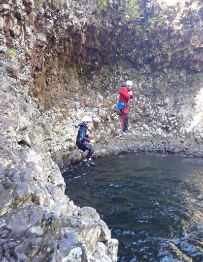 Sauts à Rivière des roches