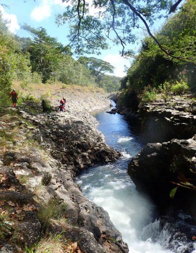 Canyoning à la rivière des roches