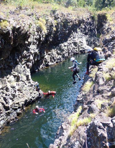 Saut à la rivière des roches