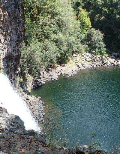 Bassin la paix à la rivière des roches